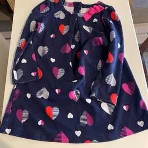 Gymboree 4T navy blue dress